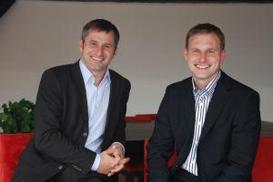 Lionel et Damien VALDAN, co-dirigeants du Groupe RIVALIS